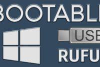 Cara Mudah Membuat Bootable USB Windows Menggunakan Rufus 2
