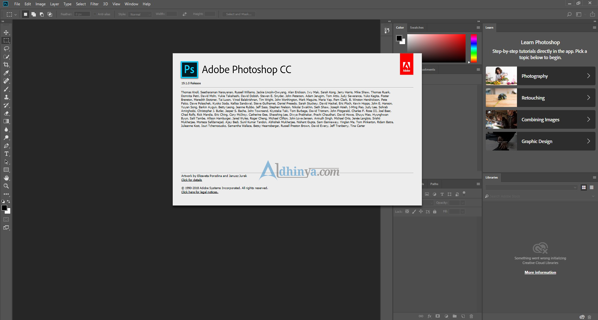 Free Download Adobe Photoshop CC 2018 v19.1 Final Update Terbaru Full