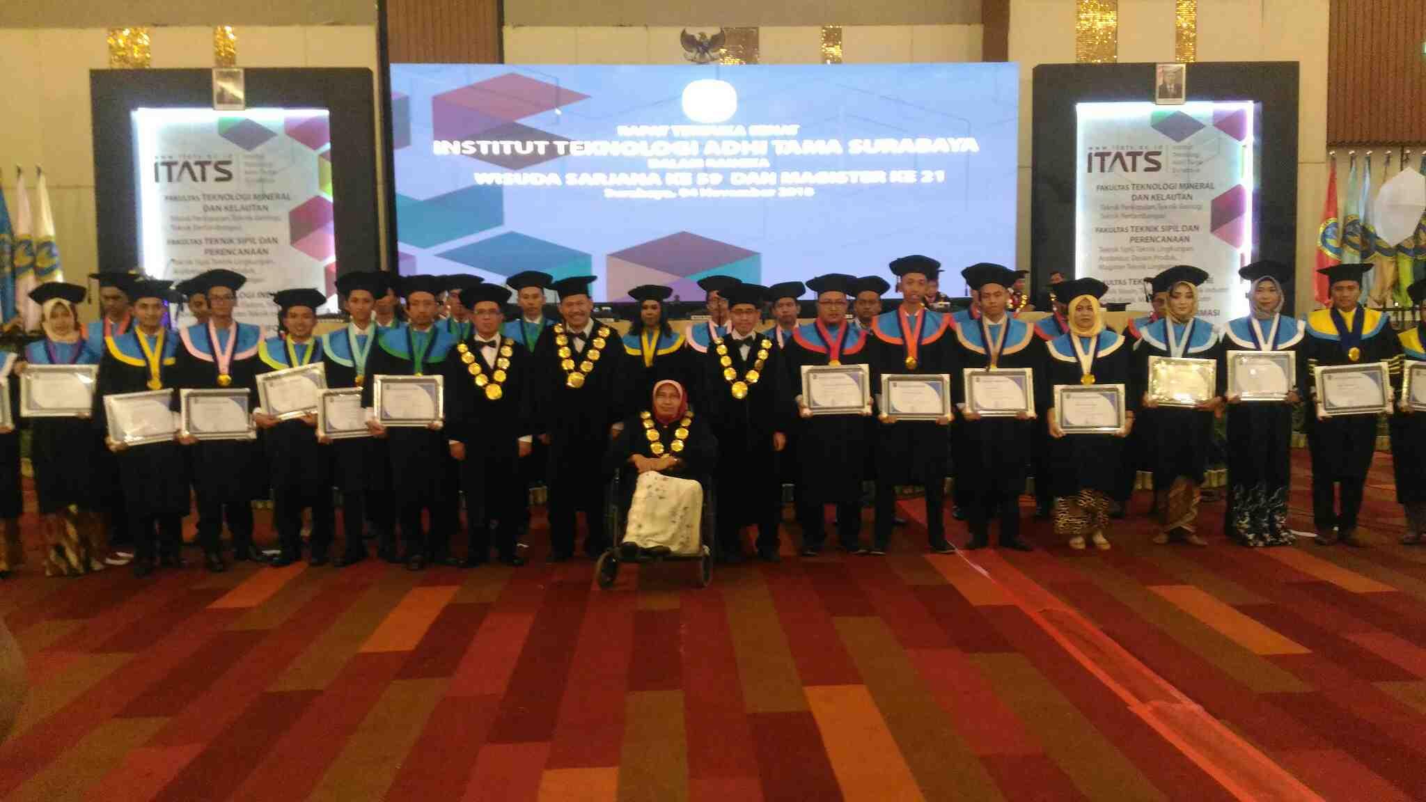 Daftar Lengkap Akreditasi Kampus ITATS Terbaru 2019 Institut Teknologi Adhi Tama Surabaya.