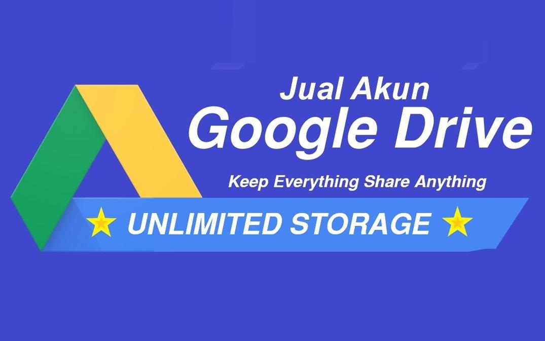 Jual Akun Google Drive Unlimited Legal Murah Pakai Domain Sendiri